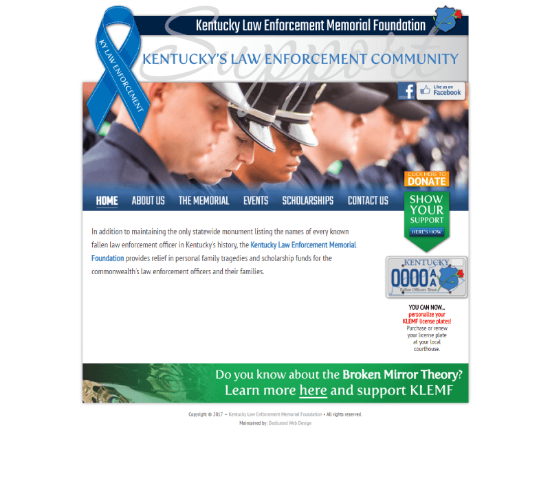 kentucky-law-enforcement-memorial-foundation-work