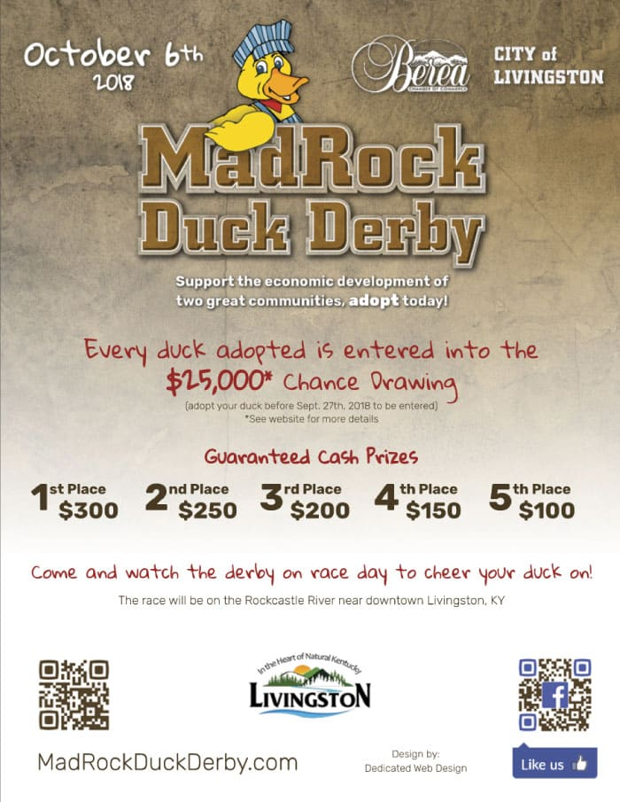 MadRock Duck Derby Flyer